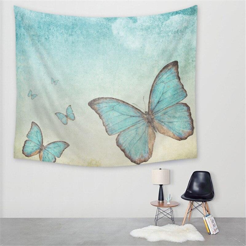 2017 hermoso creativo psicodélico mariposa impreso decorativo ...