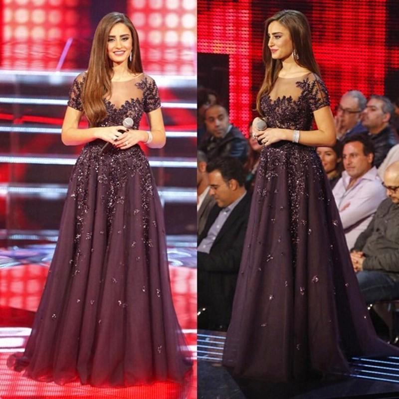 d4a4e64ce0 Sexy Long Formal Evening dress Burgundy Celebrity Dresses Red Carpet robe de  star courte celebrity tapis Fashion Show