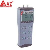 AZ8215 цифровой дифференциальный Давление датчик AZ манометр прецизионных вакуум Давление метр тестер 15psi 11 единиц RS232