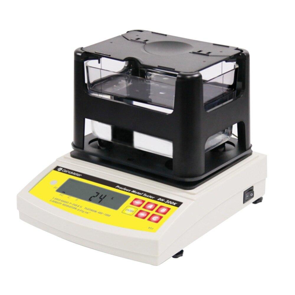 Precious Metal Density Meter Digital Density Tester Electric Accurate Measurement for Gold K And Silver Platinum