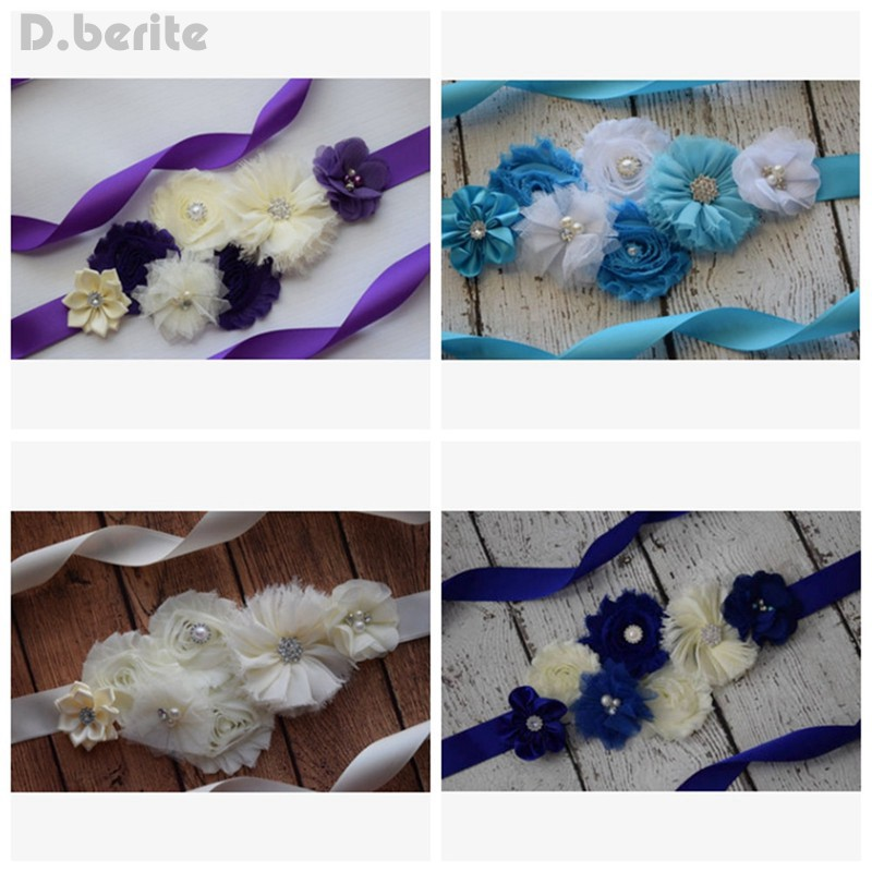Fashion Maternity Flower Belly Sash Wedding Baby Shower Vintage Belt Pregnant Photo Prop Accessories GYR9062Fashion Maternity Flower Belly Sash Wedding Baby Shower Vintage Belt Pregnant Photo Prop Accessories GYR9062