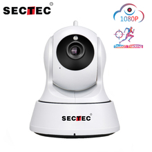 Sectec  1080P HD Wireless Cloud  Camera IP Auto Tracking Home Security Surveillance CCTV Camera Wifi Network WIFI Cam Baby Monit