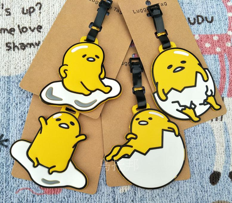 2018 Luggage Tag Real New Pvc Mala Valiz Suitcase Travel Products For Egg Yolk Lazy Jun Soft Luggage Bags And Shipping Cards