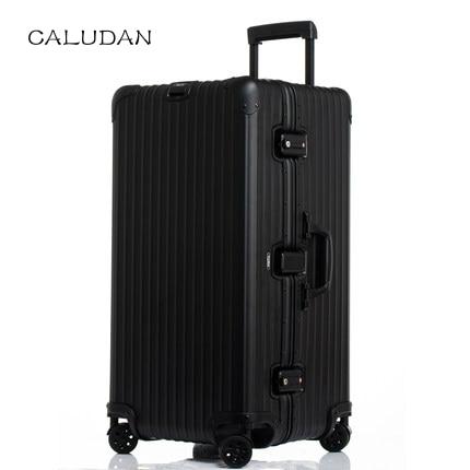 Caludan Versione Sportiva Extra Large Volume 100% Di Alluminio-magnesio Alloy22/28/30 Pollici Formato Di Alta Qualità Trolley