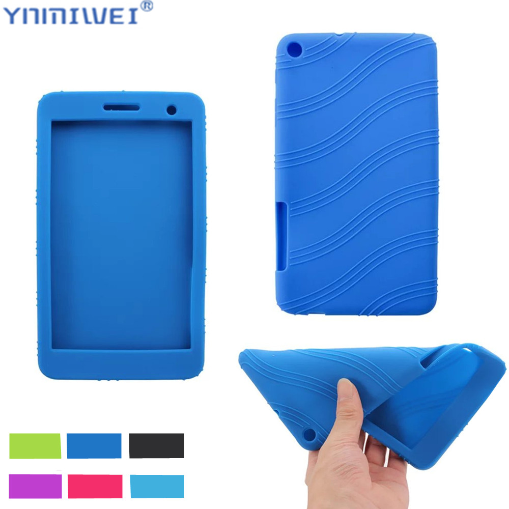 Silicon Case For Huawei Honor Play Mediapad T1-701 T1 701U T1-701U T1-701W Soft Back Protect Shell For Huawei MediaPad T2 7.0