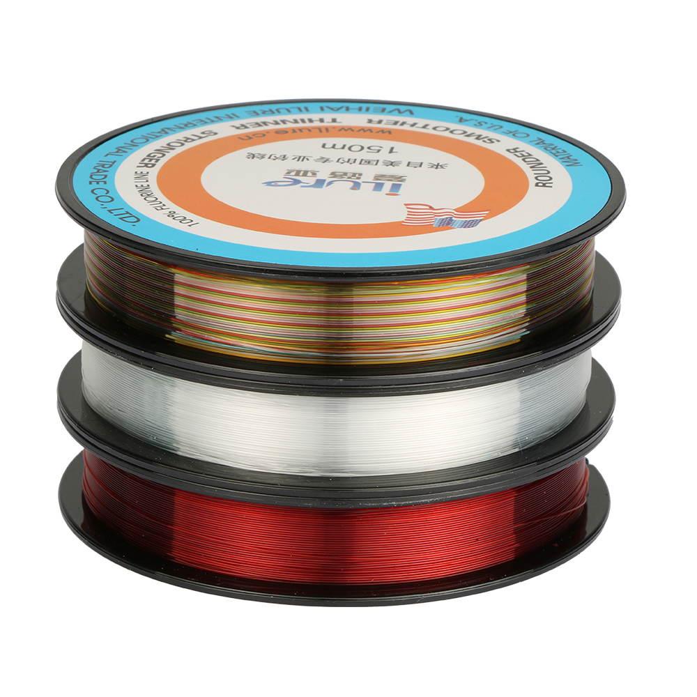150m nylon fishing line high quality abrasion resistance for Ice fishing line