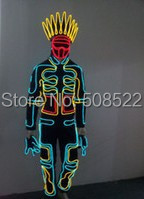 LED odrska obleka Cosplay roman žareče obleke stilsko menih - Prazniki in zabave