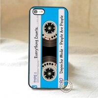 Cassette Depeche Mode Tape Fashion Mobile Phone Case Cover For 4 4S 5 5S 5C SE