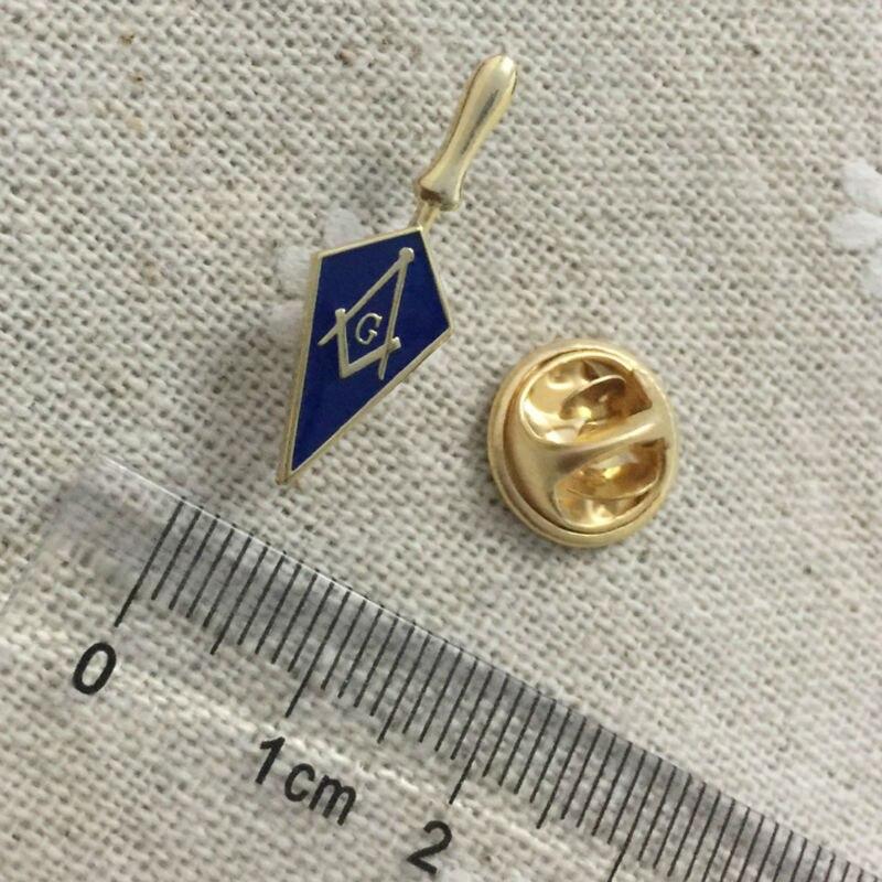 100pcs perfect gift for fellow Free masons Badges Brooch Trowel Masonic Freemason Tool Masonry Square and