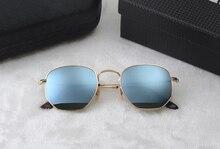Sunglasses women men retro brand designer luxury round mirror glasses gafas oculos de sol feminino lunette de soleil femme UV400