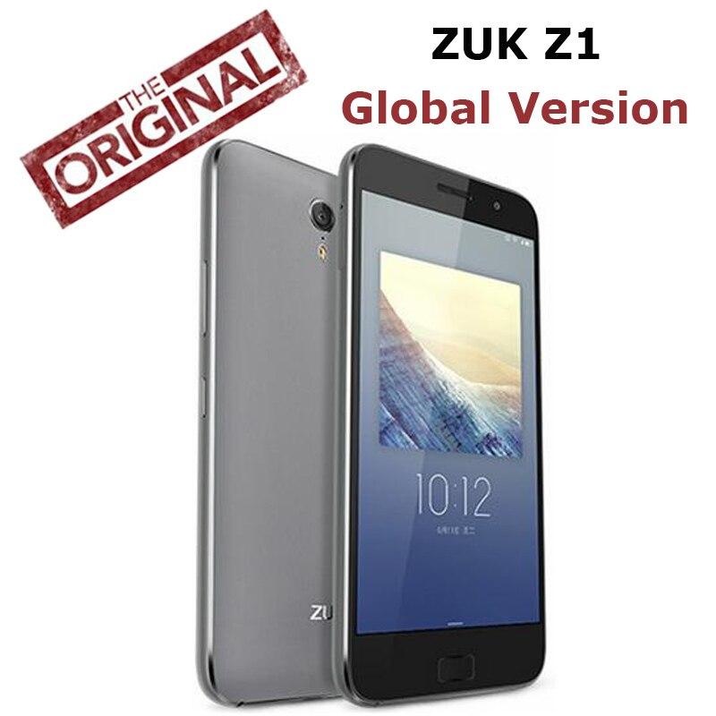 Цена за Оригинальный новый lenovo zuk z1 4g lte мобильный телефон quad core 2.5 ГГц 3 Г RAM 64 Г ROM 5.5 ''1920x1080 P 13MP Циан OS Глобальной версия