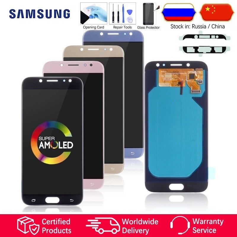 ❤️ AMOLED Display for SAMSUNG Galaxy J7 Pro 2017 J730 SM-J730F J730FM/DS  J730F/DS J730GM/DS LCD