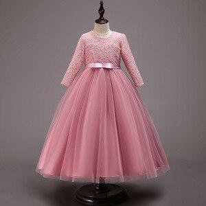 Image 3 - Новинка, Детские свадебные вечерние платья для подружек невесты, вечерние праздничные Бальные платья для девочек на день рождения, красивые вечерние платья