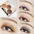 3 цвет алмазный блеск тени для век мерцание Raidiant водонепроницаемый макияжа тени макияж палитра 12 ч. долгое