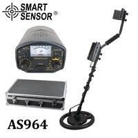Высокочувствительный детектор металла подземных 3 м глубина SmartSensor AS964 Gold digger серебро Охотник за сокровищами Pinpointer детектор