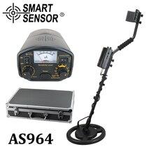 Высокочувствительный металлоискатель Подземный 3 м глубина SmartSensor AS964 Gold digger серебро Охотник за сокровищами Pinpointer детектор