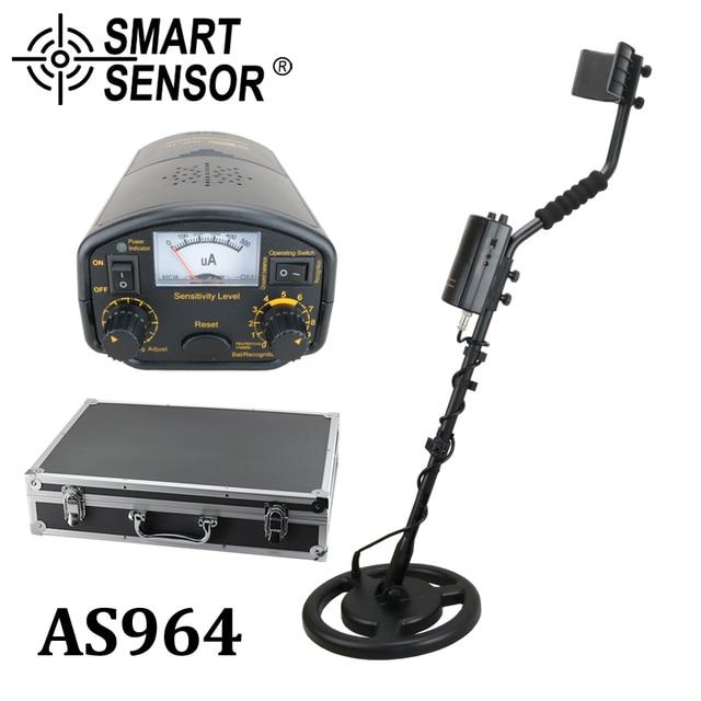 גבוה רגיש מתכת גלאי מחתרת 3M עומק SmartSensor AS964 זהב דיגר כסף אוצרות Pinpointer גלאי