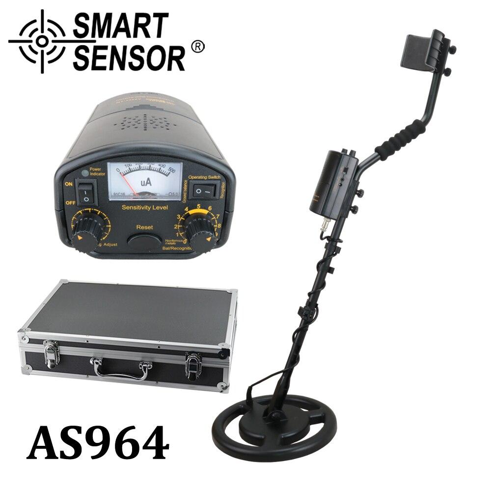 Haute Sensibilité Détecteur De Métaux souterrain 3 m profondeur SmartSensor AS964 Gold digger argent treasure hunter détecteur Pinpointer