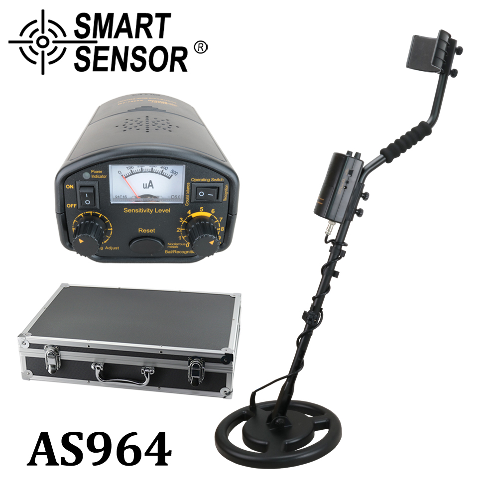 High Sensitive Metal Detector underground 3M depth SmartSensor AS964 Gold digger silver treasure hunter Pinpointer detector