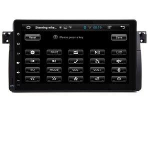 Image 5 - 9 インチの Hd タッチスクリーンアンドロイド 9.0 車の dvd プレーヤー、 bmw E46 M3 Wifi 3 グラム GPS Bluetooth ラジオ RDS ステアリングホイールコントロールマップ