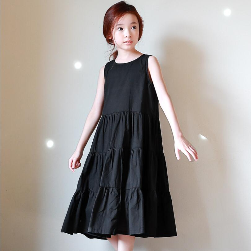 Black Girl Clothing: 4 14 Years 2018 Summer Toddler Teen Girls Princess Dress