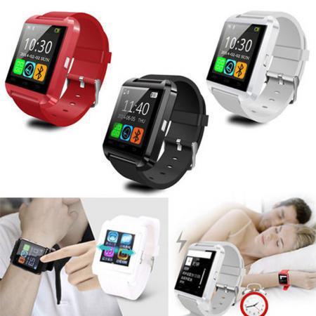 Bluetooth font b Smartwatch b font U8 U Smart Watch for iPhone 6 6 Plus 5S