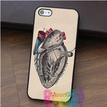Anatomical Heart Science Anatomy Medical fashion cell phone case for iphone 4 4s 5 5s 5c SE 6 6s 7 6 plus & 6s plus 7 plus #rk26