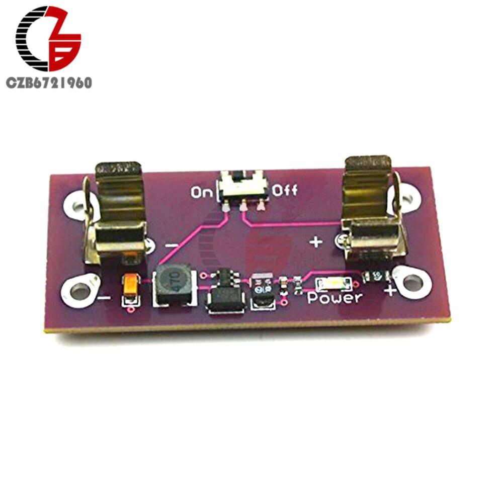 AAA батарея Шаг до 5 В преобразователь питания модуль для Arduino