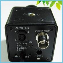 CCD DIY Охота Ночного Видения Камера с 16 мм Объектив Инфракрасного Ночного Видения Промышленной Камеры 0.0001LUX Ультра Низкой освещенности камера
