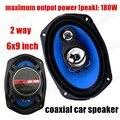 2 unids 2x180 W 2 vías 6X9 pulgadas Coche Altavoces Coaxiales de Audio Del Coche altavoces estéreo para todos los coches