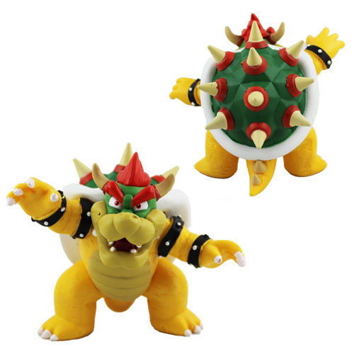 Super Mario Bros Bowser PVC Action Figure Model Toy Action Figures Model Toys Movie Collection