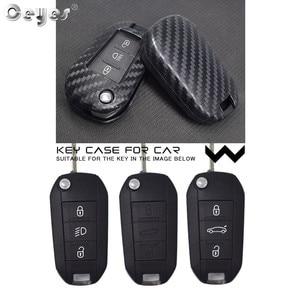 Image 5 - Ceyes 자동차 액세서리 스타일링 보호 쉘 커버 케이스 시트로엥 c2 c3 c4 c4l c5 c6 푸조 208 207 308 rcz 2 3 버튼
