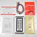 Rfid 125 кГц система контроля допуска к двери светодиодный металлическая клавиатура Бесконтактная карта Автономный контроль доступа с 2000 испо...