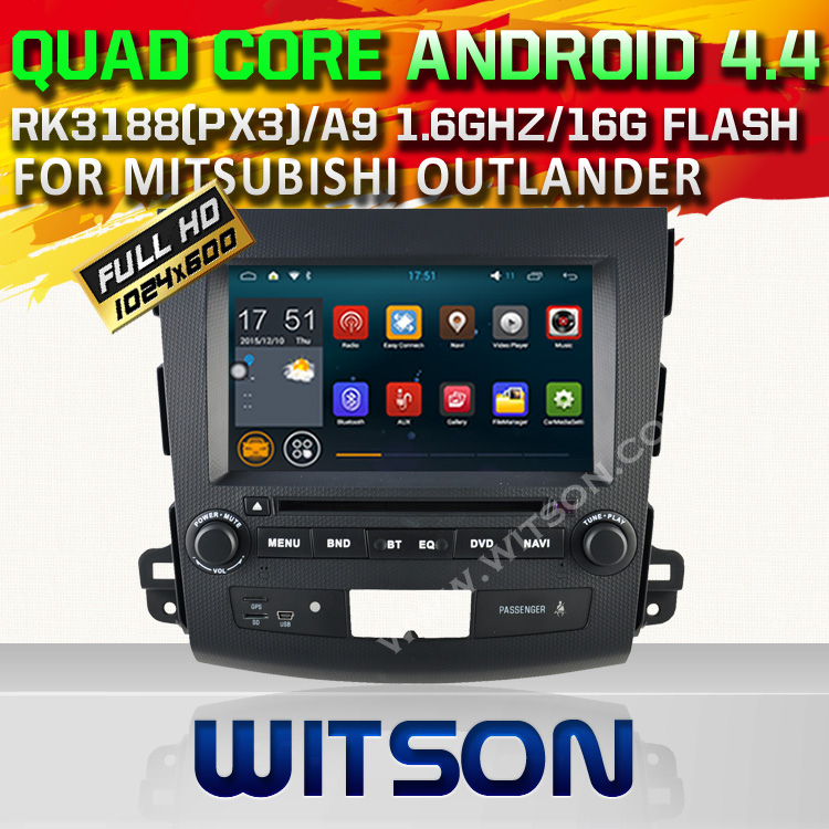 WITSON Quad Core font b Android b font 4 4 4 CAR DVD PLAYER for MISUBISHI