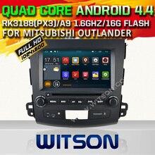 WITSON Quad Core Android 4.4.4 COCHES REPRODUCTOR de DVD para MISUBISHI OUTLANDER pantalla Capacitiva 16 GB Rom 1024×600 HD pantalla Espejo Enlace