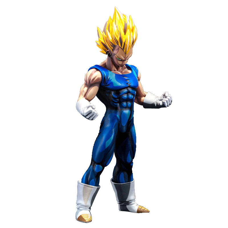 HOT Anime Dragon Ball Super Color painting Vegeta Ultra Instinct Jiren Goku 26cm PVC Action Figure Model doll toys Free shipping цена