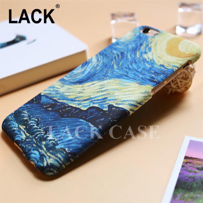 LACK Mode Abstraktionism Art Starry Sky Oljemålning Cover för - Reservdelar och tillbehör för mobiltelefoner - Foto 4