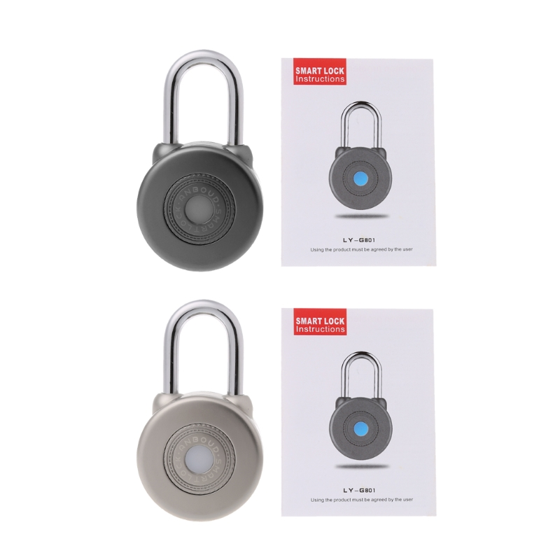 Bluetooth Smart Lock Wireless Control Smart Bluetooth Padlock Master Keys Types Lock with APP Control