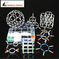 620pcs A Large Set Chemical Molecular Model Organic Inorganic Molecule Structure Models Crystal Structure Model Free