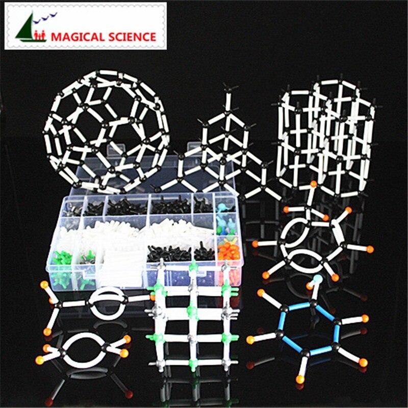 620 stücke 9mm molekulare modell kit mit box, Organische Chemie Lehrmodell für lehrer & studenten in hoher schule & Universität