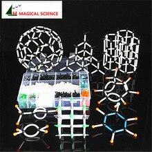 620pcs 9 millimetri modello molecolare kit con la scatola, modello di Insegnamento per insegnante Chimica organica e studenti in sacchetto di alta scuola e Università
