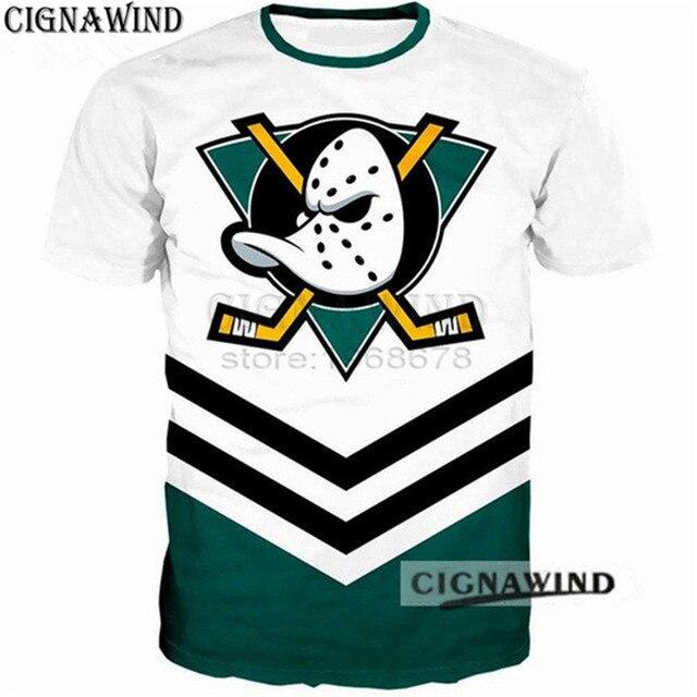New fashion t shirt Men Women Anaheim Ducks 3D Printed T-Shirts Short  sleeve Harajuku style tshirt streetwear summer tops baf3bf942