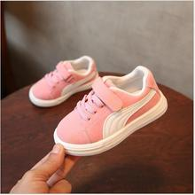 Kids Shoes Children Breathe Boys Sport Trainers Shoes Casual Baby School Flat Leather Sneaker 2019 Girls Sneaker Toddler Shoes