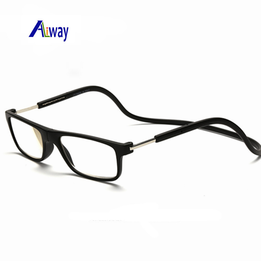 mix fashion new magnetic reading glasses click hang around