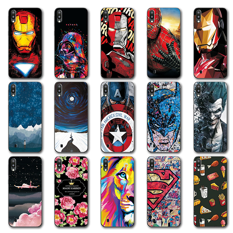 Cellphones & Telecommunications Novelty Phone Bags For Samsung Galaxy S10 Plus Case S10 Lite Iron Man Painted Tpu Case Cover For Samsung Galaxy M10 M20 M-m105f To Win A High Admiration Phone Bags & Cases