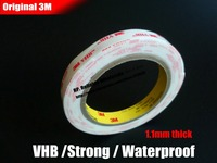 1 1mm Thick Original Super Strong Bond 3M VHB 4945 Double Sided Adhesive Tape Waterproof