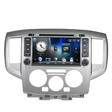 Free Shipping Car DVD Player with GPS Navigation System For NISSAN NV200 2009 2010 2011 2012 2013 2014 2015 Radio Bluetooth SD