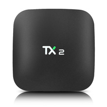 TX2 2 GB 16 GB Set-top TV Box Rockchip RK3229 Android 6.0 Smart TV CUADRO H.265 Soporte 4 K x 2 K H.265 2.4 GHz WiFi Reproductor Multimedia BT2.0