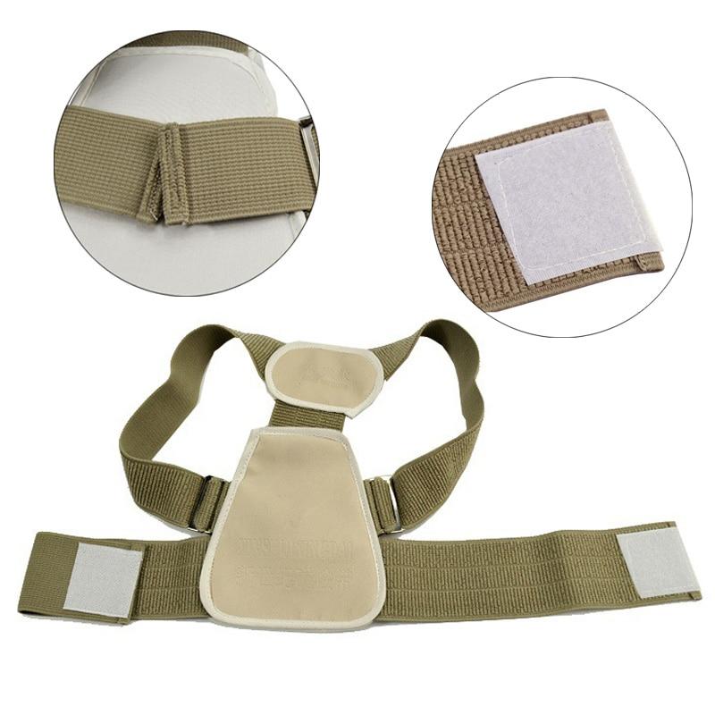 Drop shipping Teenage Posture Corrector Correction Orthosis Back Support Back Posture Correction Flexible Back Belt for Child 5