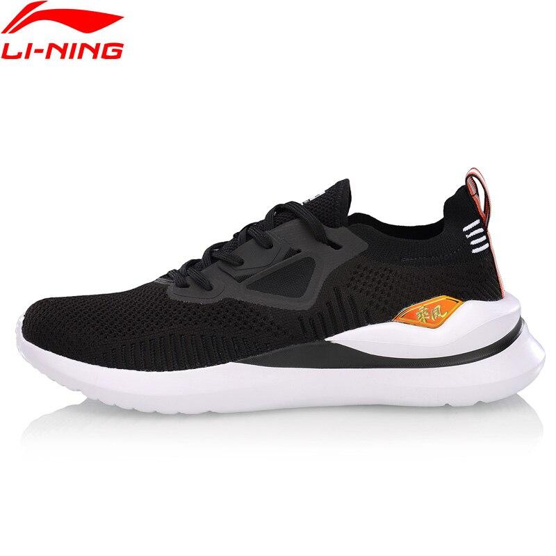 b8288c2d Li-Ning Для мужчин Уиндрайдер отдыха Lifestyle обуви однотонные Тканные  дышащая подкладка подушки в форме облака Спортивная обувь Кроссовки AGLP021  .